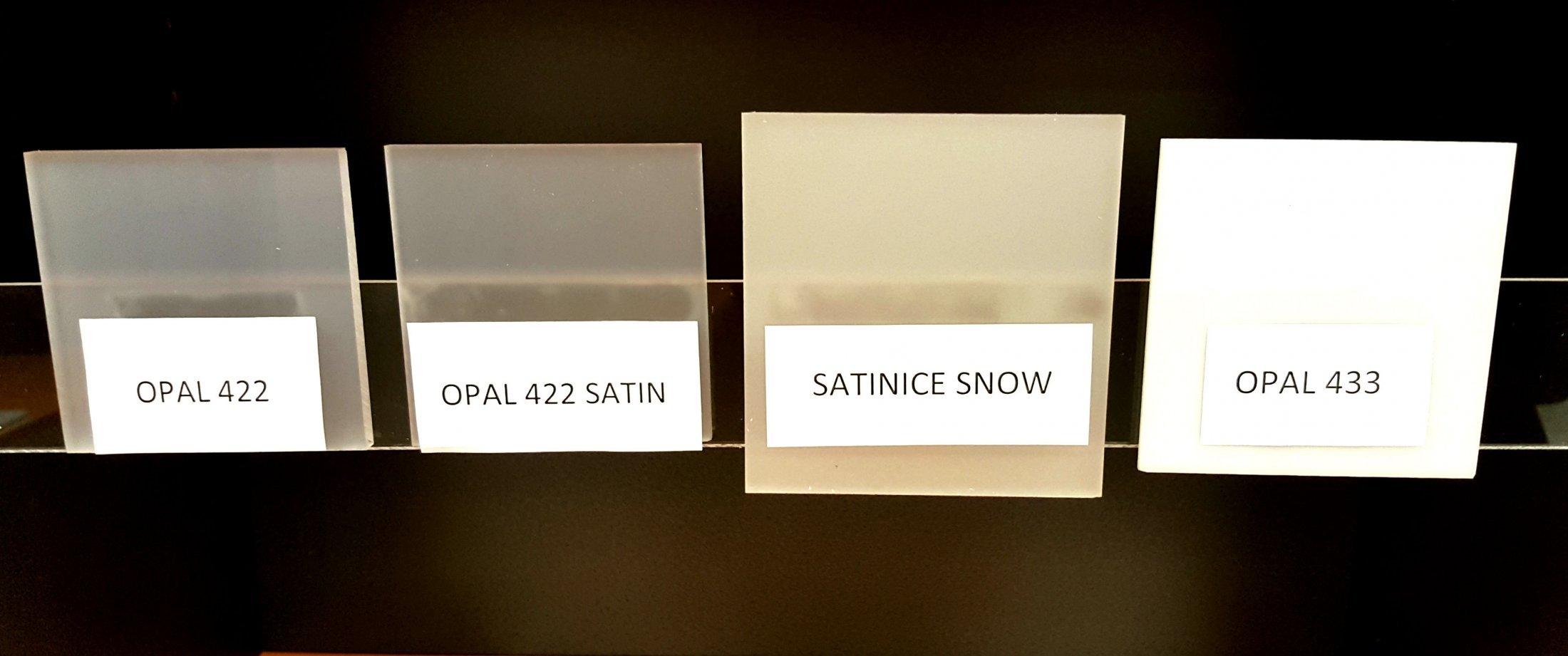 opal    satin ice acrylic comparison