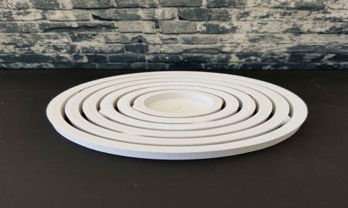 3D Printed Plate