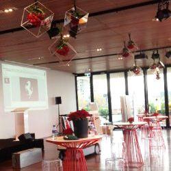 Acrylic Cubes Hanging Display 2