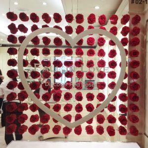Acrylic Rose Display - Laser Engraved