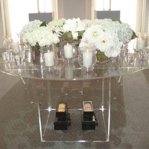 Acrylic Wedding Table