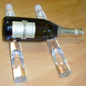 Acrylic Wine Bottle Stand