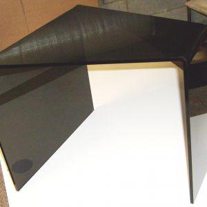 Black Acrylic Side Table