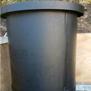 Black Polypropylene Tank