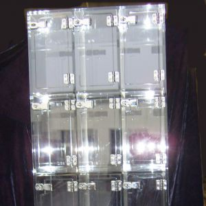 Clear Acrylic Lockers