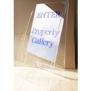 Clear Acrylic Sign