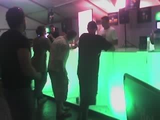 Satin Ice Acrylic Bar Illuminated