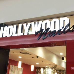 Hollywood Nails Signage