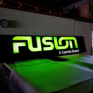 Illuminated Fusion Sign