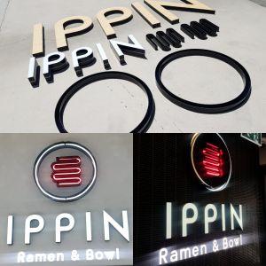 Ippin Ramen Letters