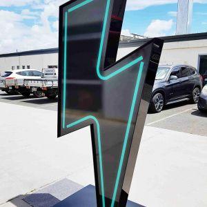 Lightning Bolt Display