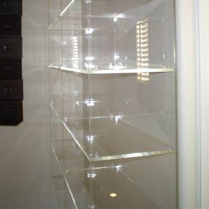 Lit Acrylic Bookshelf