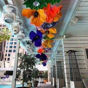 Melbourne Cup Event Decorations Pool