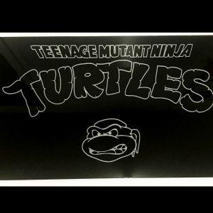 Ninja Turtles Engraved