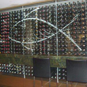 Omerostar Wine Display