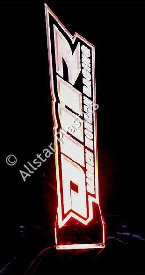 LED Acrylic Engraved Logo Trophy
