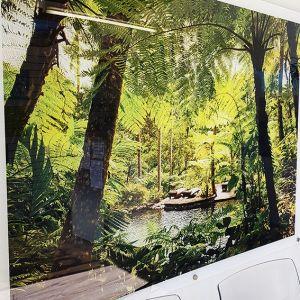 Rainforest Print On Acrylic
