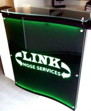 Reception Desk Lit