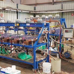 Scandium Extraction Tanks