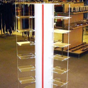 Shoe Display Clear Acrylic