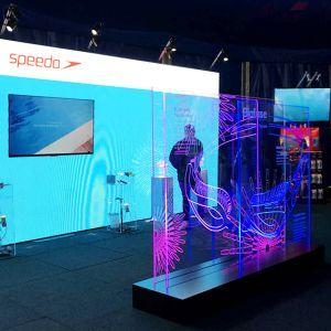 Speedo Display For Trade Show Event
