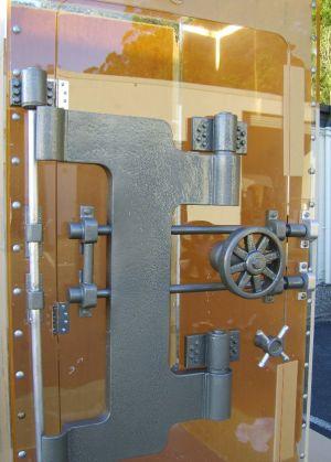 Polystyrene with Acrylic Display Vault