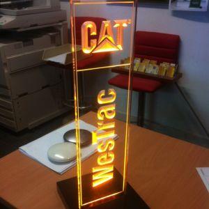 Westrac Lit Display