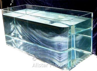 Acrylic Aquarium Fabricated from Plexiglas 25mm