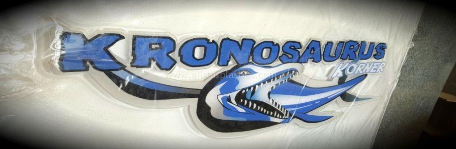 Kronosaurus Thermoformed Sign