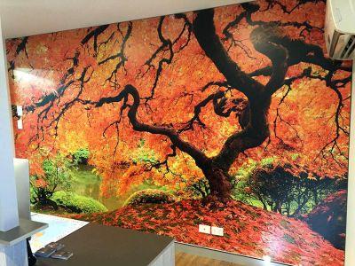 Polythylene Wall Print - Autumn Tree