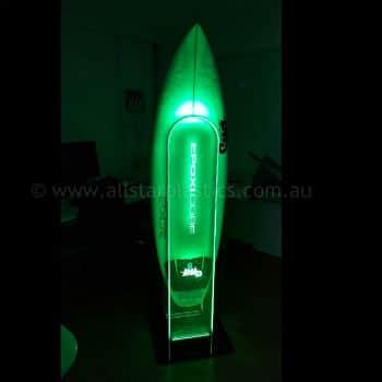 edgelit LED acrylic sign