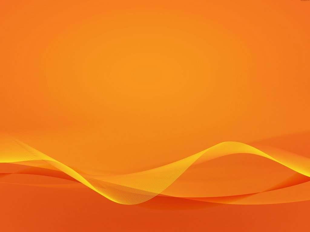Wavy Line Orange Background