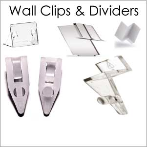 Wall Clips / Dividers