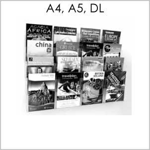 Brochure Holder Wall