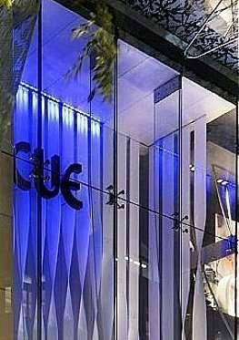 Cue Retail Display Acrylic Ribbons