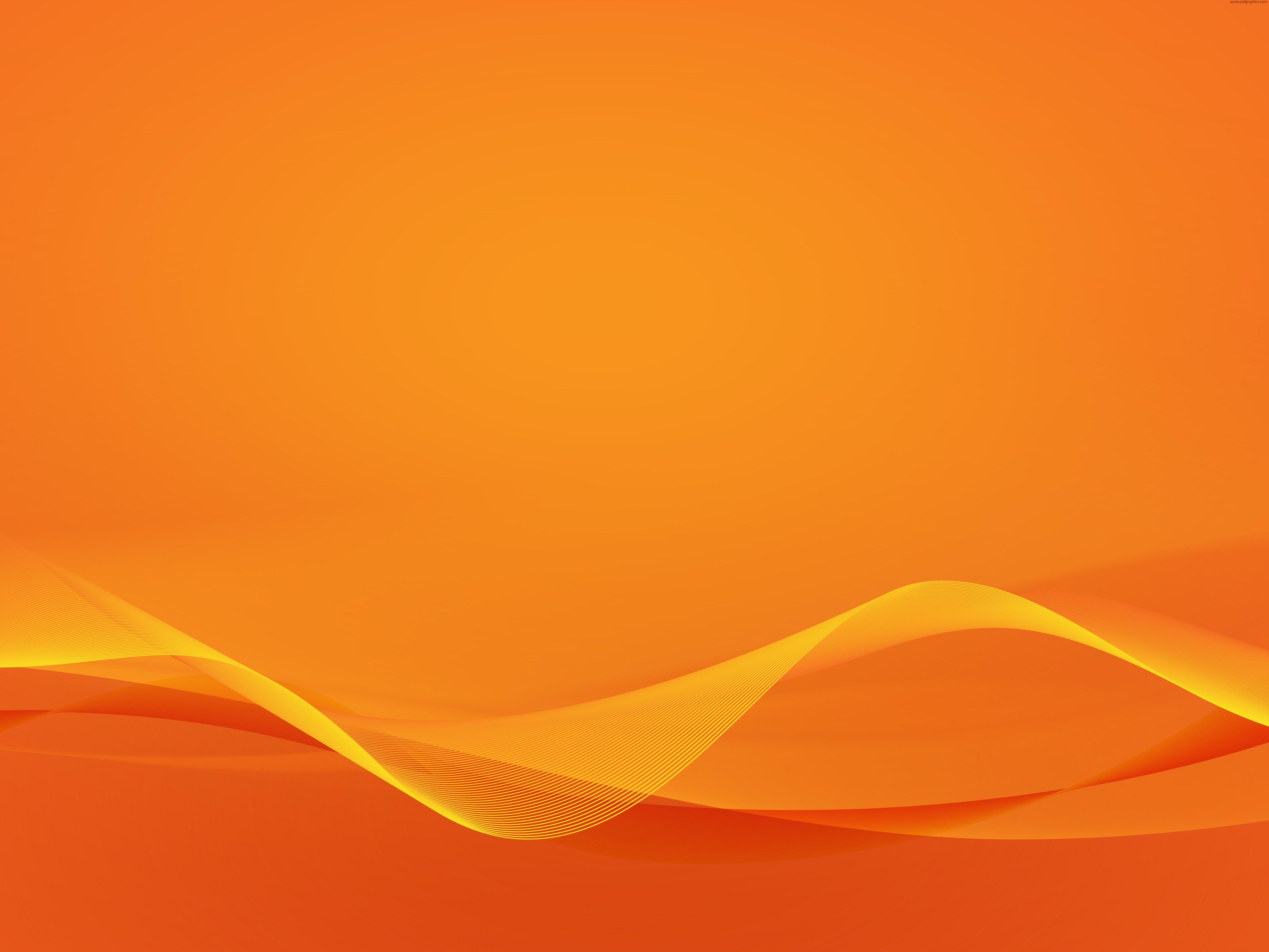 wavy-orange-background