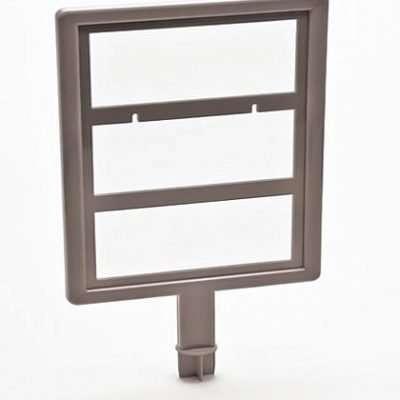 cap header for taymar floor standing