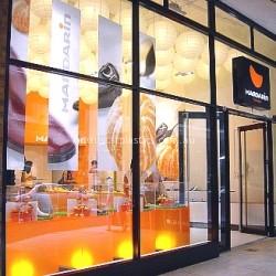 0051 Mandarin shop fitting lightboxes