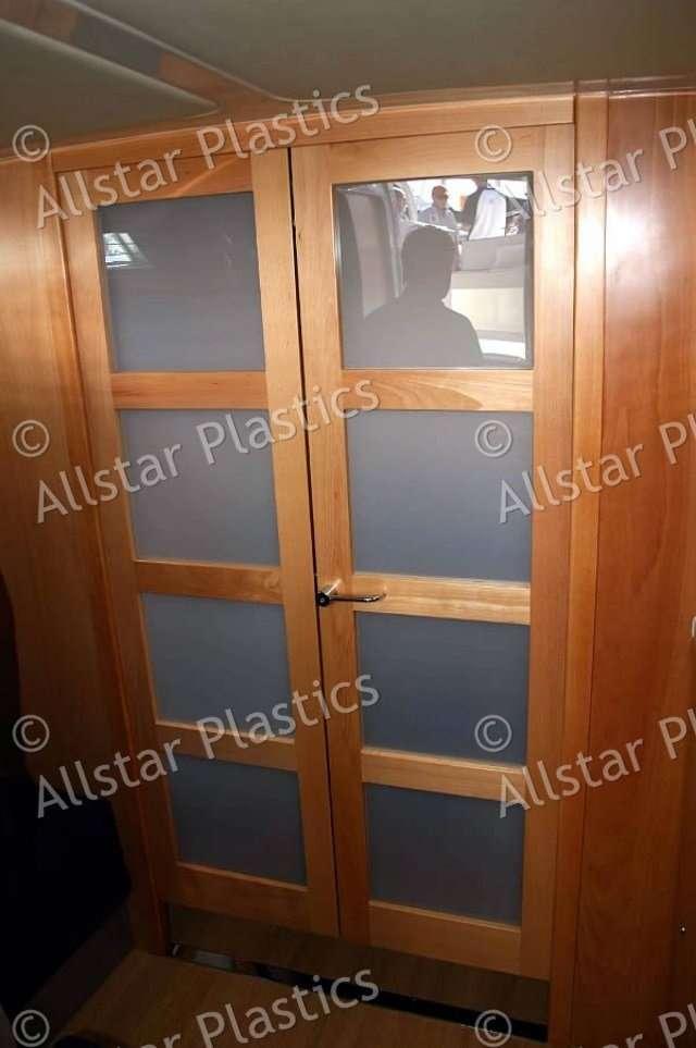 Opal Acrylic Cabinet Doors