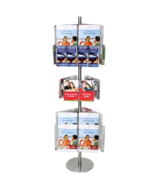 Brochure Holder Carousel