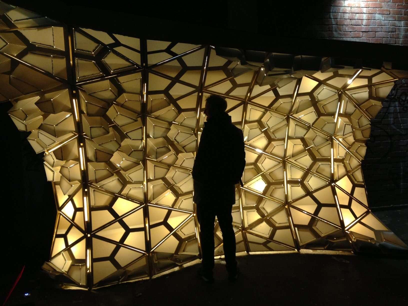 Atmospheric-Tessellation Architectural Lighting