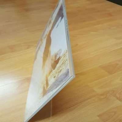 Poster holder, Menu Stand Acrylic Landscape