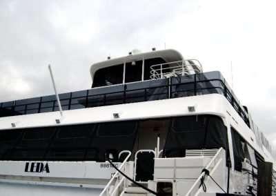 Leda Boat Polycarb Balistrades EDIT RESIZED 700 x 485