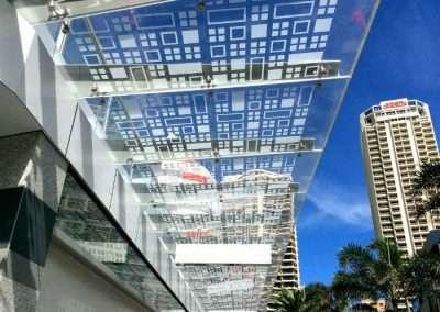 The Mark Hotel 15mm Plexiglass GS Awning 700 x 523