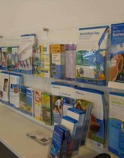 Point of Sale Display, Brochure Holders Wall Display