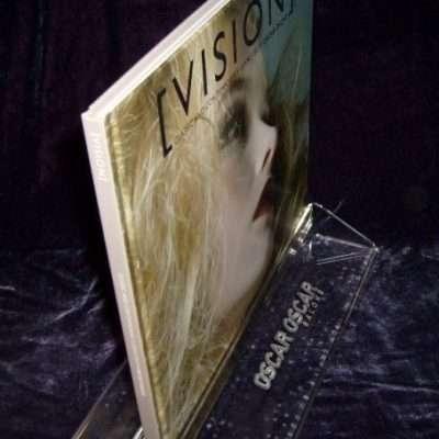 Book Display Stand Custom Made. Engraved Oscar Oscar Hairsalon