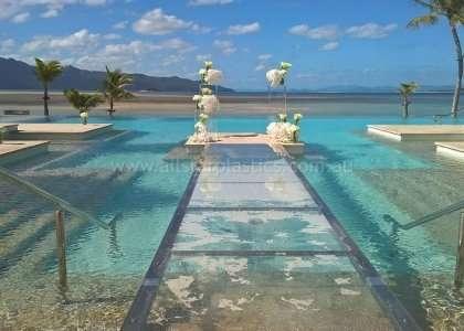 25mm Plexiglas Resort Pool